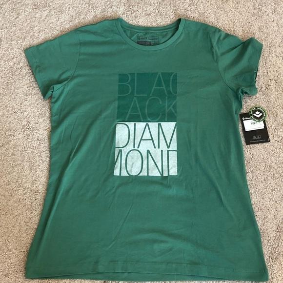 2448fb48b Women s Black Diamond Block T-Shirt